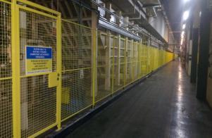 Safety Fencing installed at Jaguar Cars