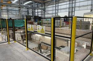New SULZER Factory showcases Sponmech's Safety Fencing