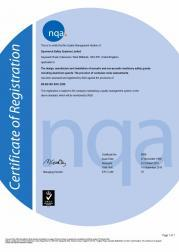 Quality Management Certificate NQA 9968