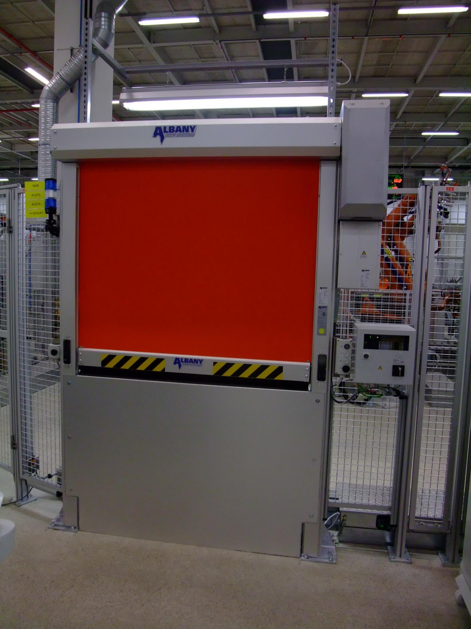 Machine Protection Door Systems