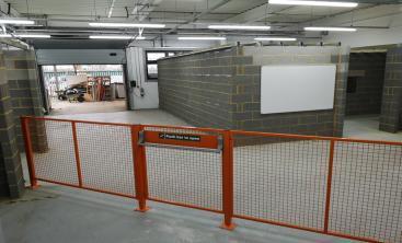 Educational Segregation Safety Fencing