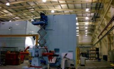 A No More Noise Steel Enclosure Assembled on Site