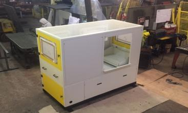 One of our latest Robot Machine Loader Guards