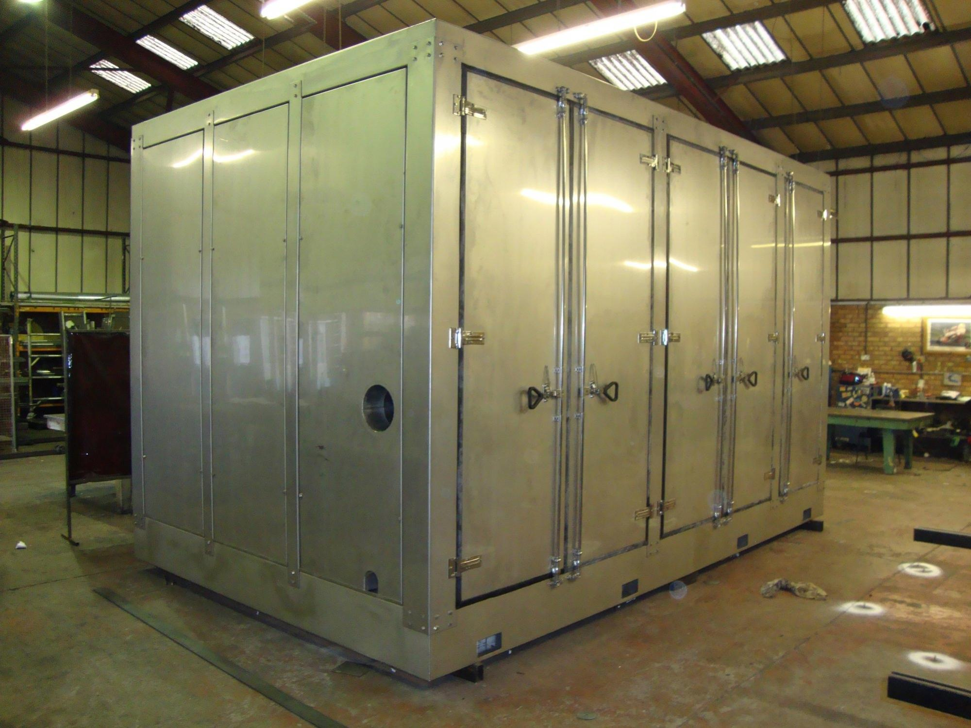 Stainless Steel Machine Guards