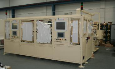 Welding machine cell