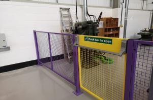 Heavy Duty Safety Fencing