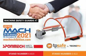 Exhibition announcement - Safety Guards at MACH 2021
