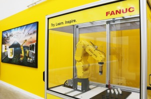 Sponmech Robot Guarding at FANUC's new Training Academy