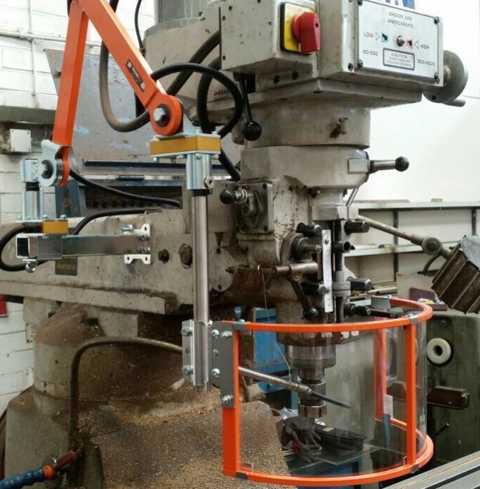 Drill Press Guard >> Universal Milling Machine Guard