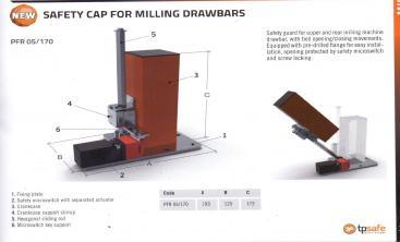 {Safety Cap for Milling Drawbars}