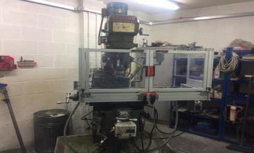 Bi Folding Table Guard For Milling Machines
