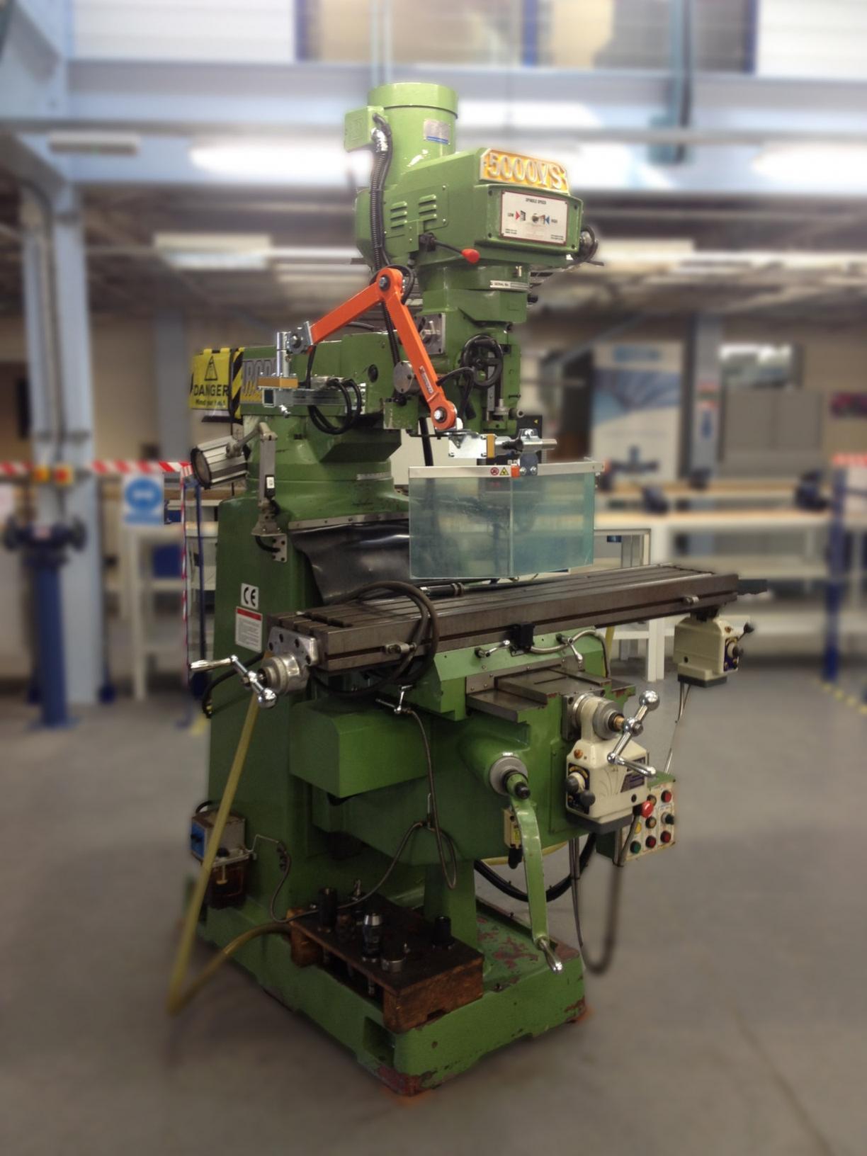 Drill Press Guard >> Machine Safety Guard for Universal Mills